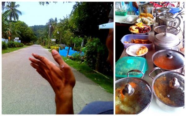 On our way to Mantayupan Falls