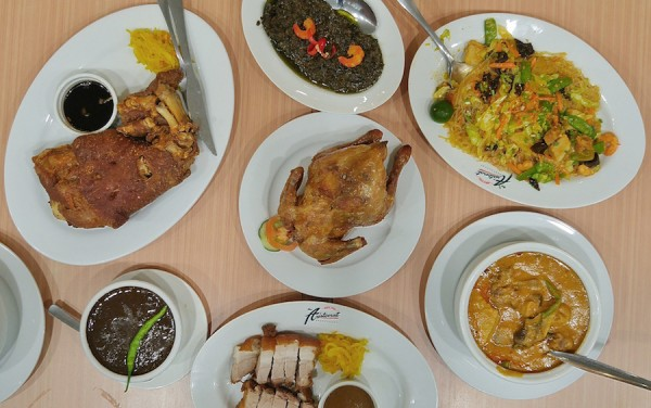 Pinoy Food at The Aristocrat Restaurant