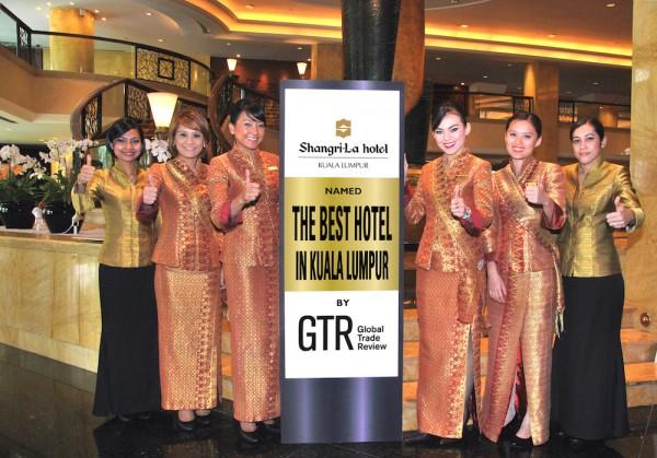 Shangri-La Hotel, Kuala Lumpur Named the Best Hotel in Kuala Lumpur by GTR