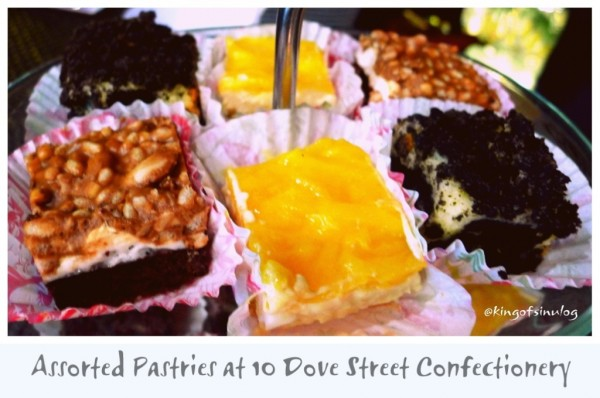 Assorted Pastries at 10 Dove Street Confectionery