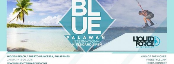 Blue Palawan International Kiteboard Open 2016