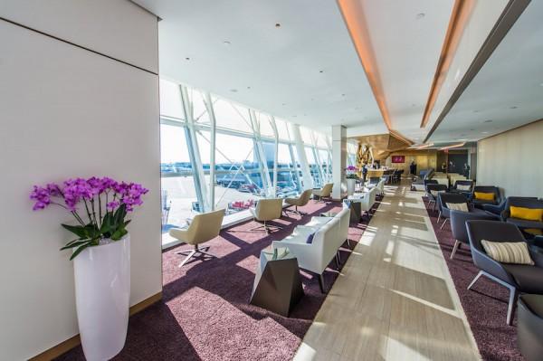 Etihad Airways premium lounge at JFK