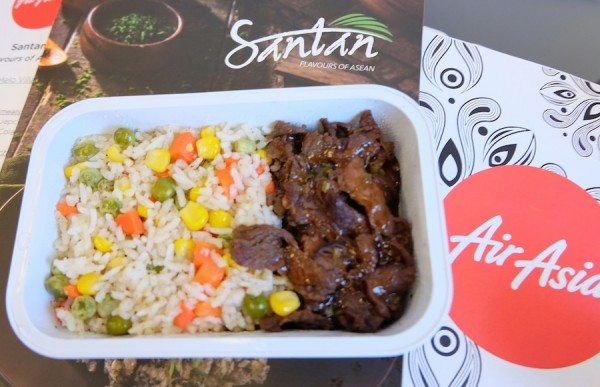 New Inflight Meals from AirAsia's restaurant in the sky