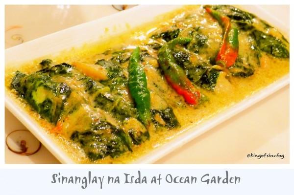 Sinanglay na Isda at Ocean Garden