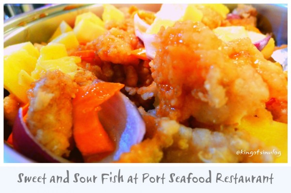 Sweet and Sour Fish at Pork Seafood and Restaurant