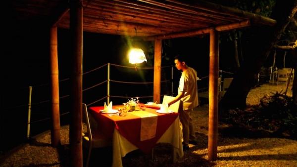 Romantic spot for dinner
