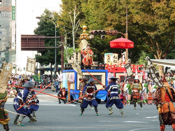 Nagoya Festival by Bariston - Own work. Licensed under CC BY-SA 4.0 via Commons