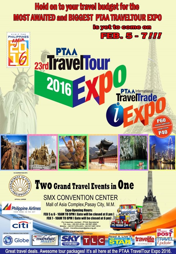 Philippine Travel Tour Expo 2016