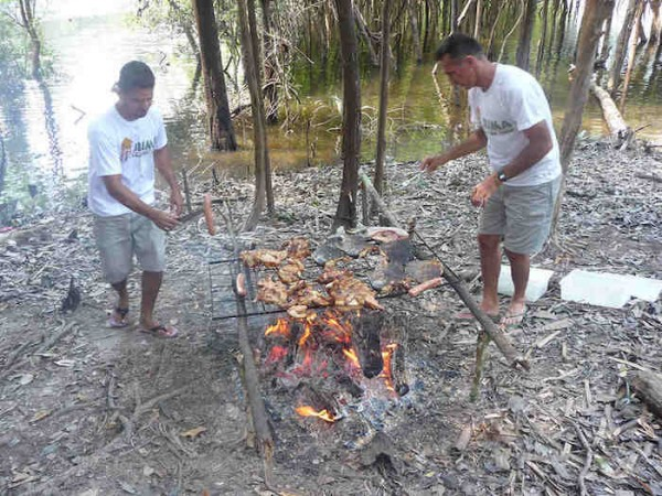 Picnic at the Amazon Forest