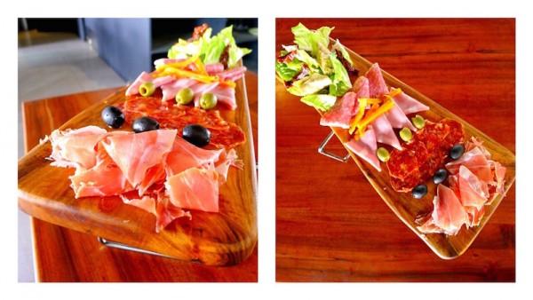 Pigafetta's Mixed Antipasti Planks