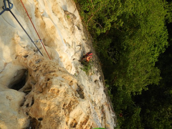 Rock Climbing in Toledo Cebu