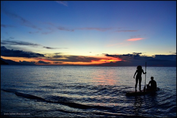 Sunset in Puerto Galera by Aleah