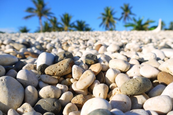 White Pebbles Beach in Minalabac Camarines Sur