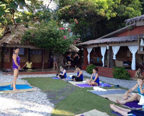 Yoga Class at Lilom - photo by Lilom FB
