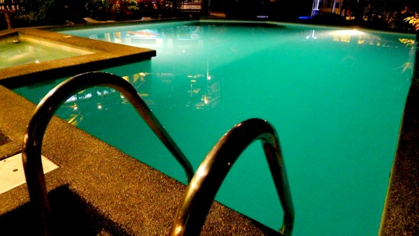 Fancy a night swim