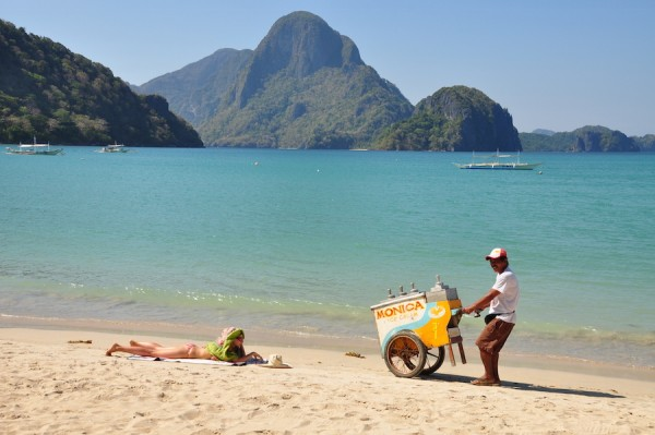 Ice Cream Vendor in El Nido