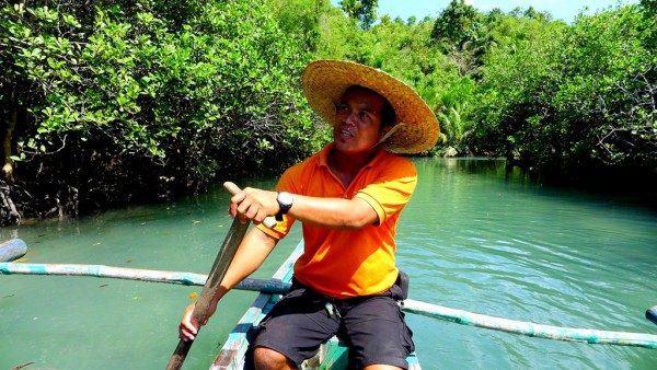 Jerry our Guide and Paddler