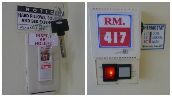 Key Holder and Thermostat