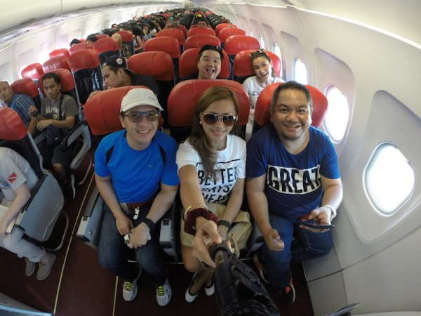Manila bound Flight from Tagbilaran Bohol via Philippines AirAsia