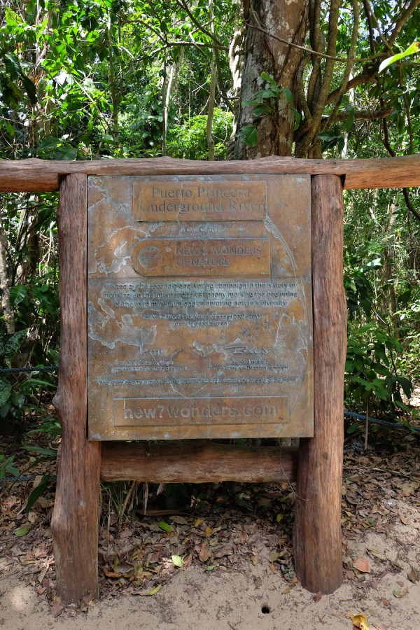 New 7 Wonders of Nature Marker