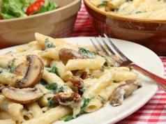 Rigatoni Pasta Florentine
