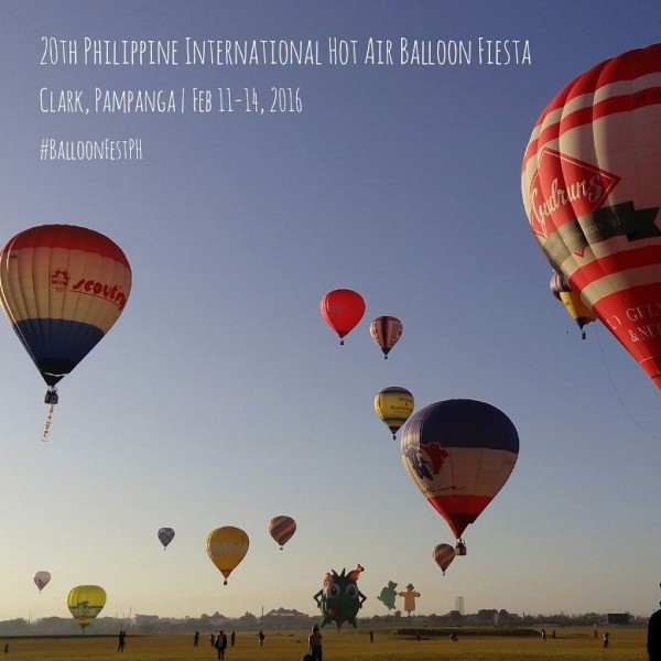 Philippine International Hot Air Balloon Fiesta 2016 Photos