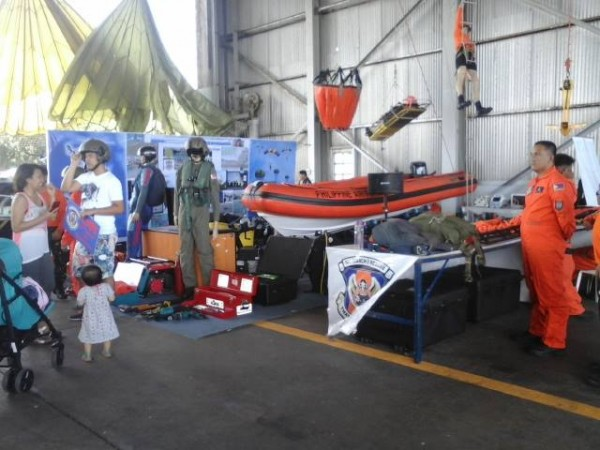 Philippine Search and Rescue booth