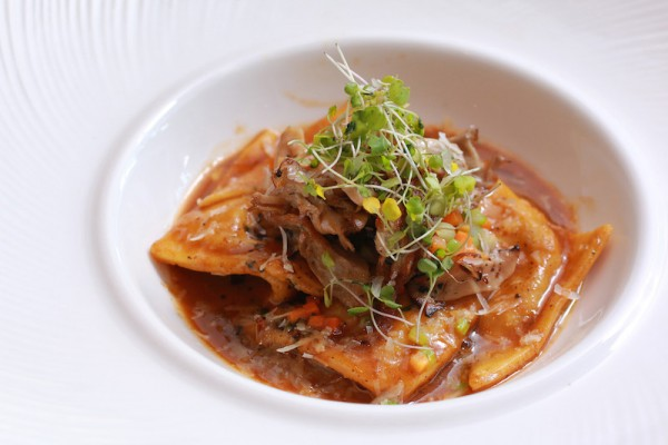 Pork Cheeks Ravioli