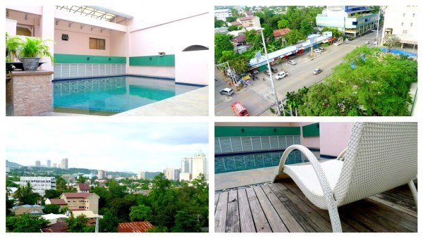 Roofdeck swimming pool
