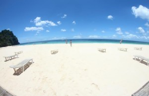 White Sand Beach at Isla Hinugtan