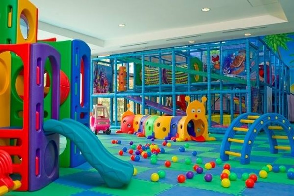 A colorful place for active kids