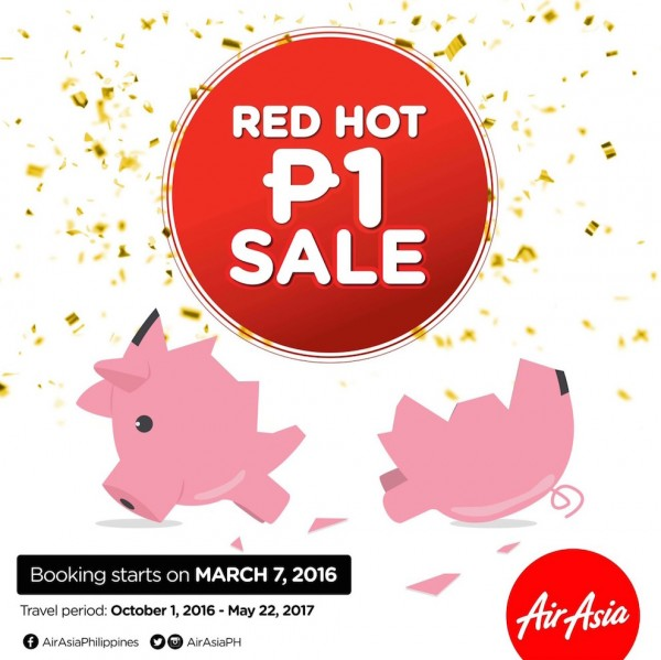 AirAsia Red Hot Piso Sale is Back