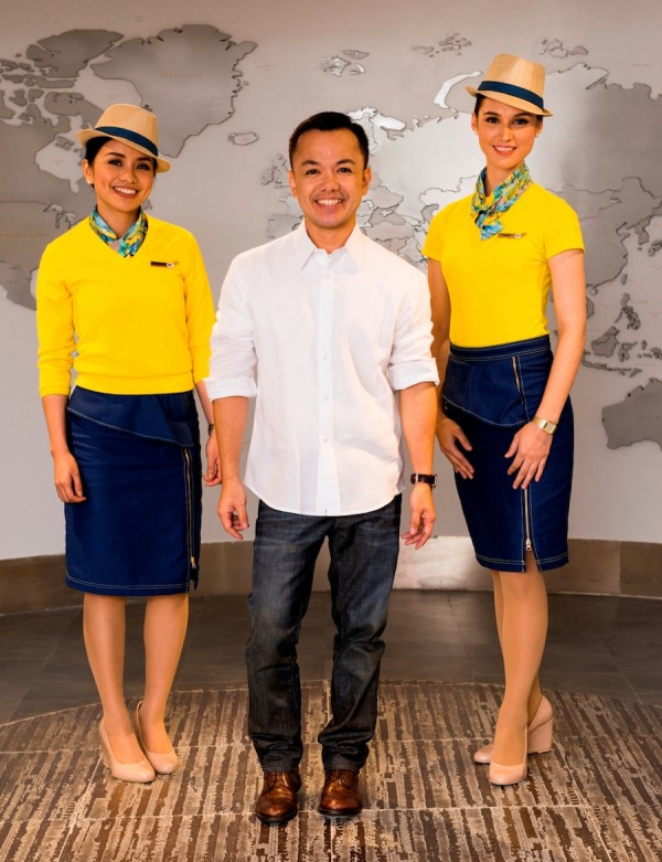 Cebu Pacific new cabin crew uniforms