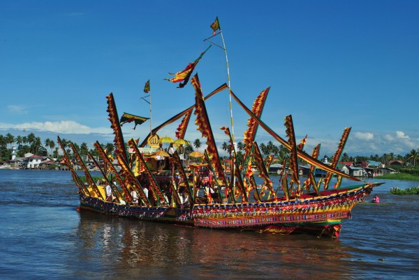 Ginakit boat of Cotabato City