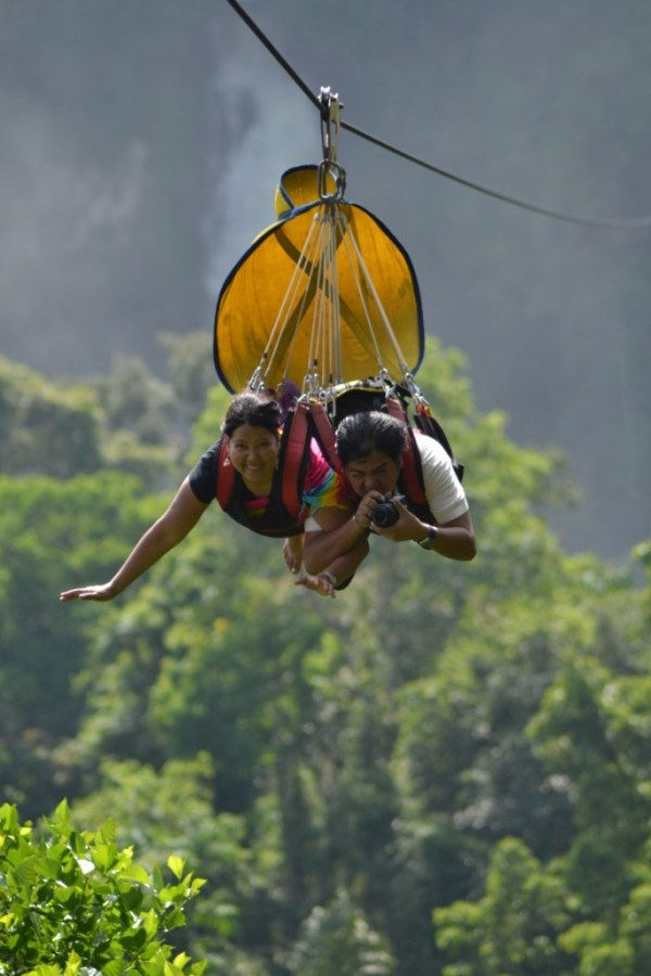 Lake Sebu Seven Waterfalls zipline