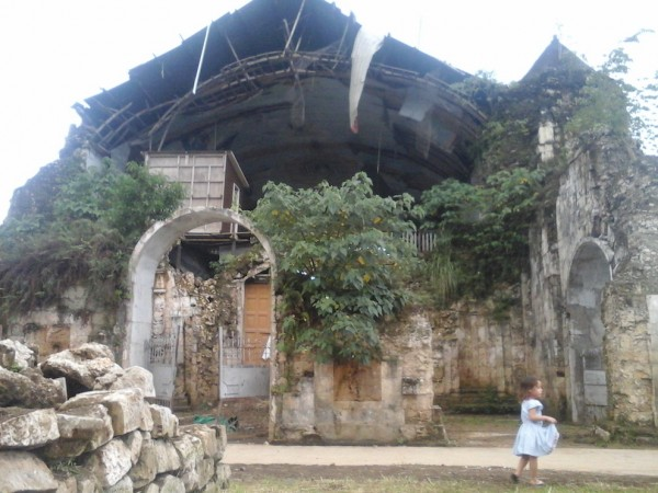 Ruins of St. Peter, the Apostle Church