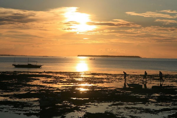 Sunset in Bantayan Island