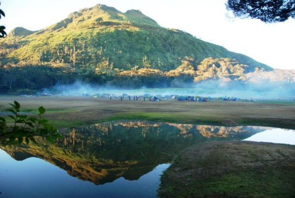 Venado Lake at Mt Apo National Park