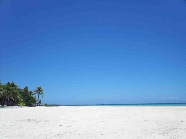 White Sand Beach in Bantayan Cebu