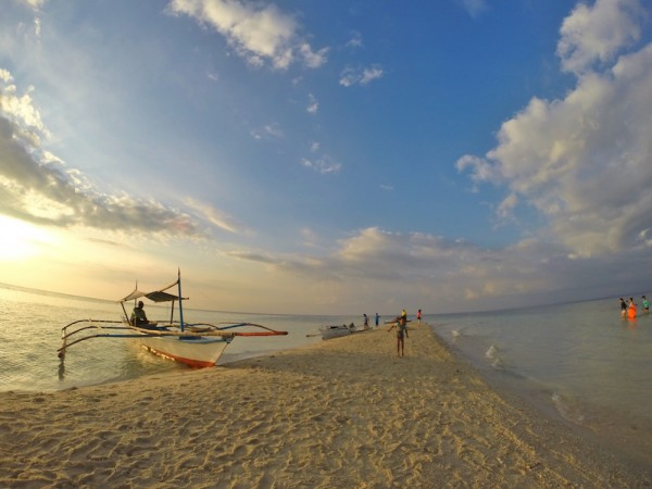 Afternoon in Palad Sandbar