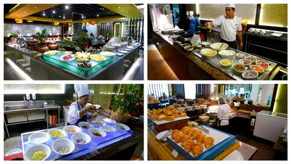 Breakfast buffet at UNO Restaurant