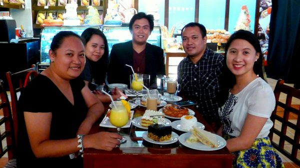 Cebu Bloggers at Waterfront's Madeleine