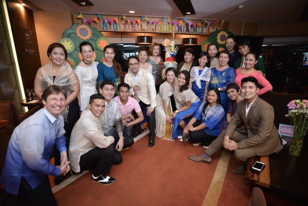 Hotel Jen Manila team poses with the anniversary cake and extend their outmost gratitude to the hotel's loyal guests, corporate and travel partners and friends from the media.