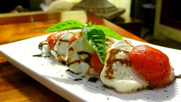 Insalata Caprese at PHP480