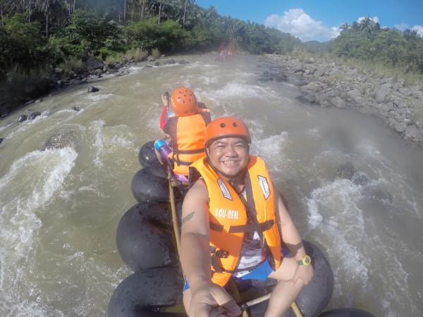 River Rafting in Real Quezon