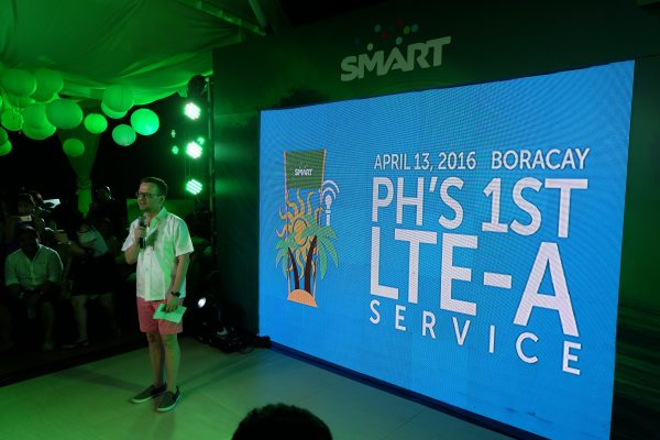 SMART LTE-Advanced Launch