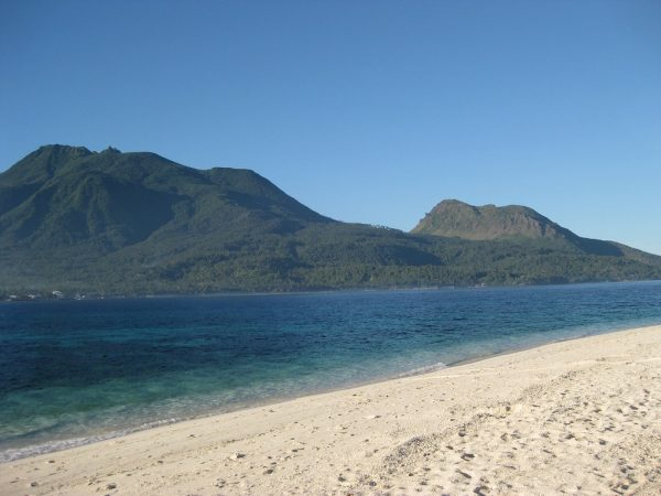 White Sand Beach in Camiguin Island