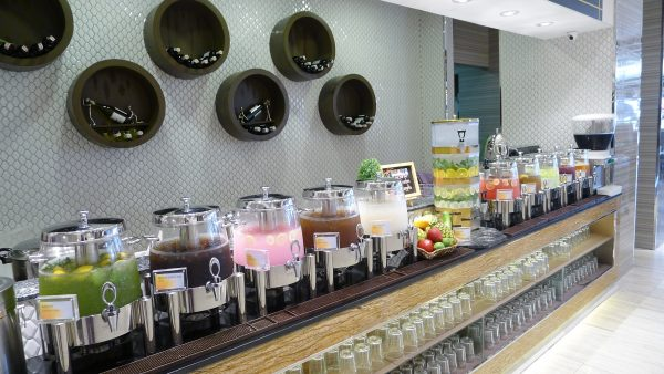 Beverages section