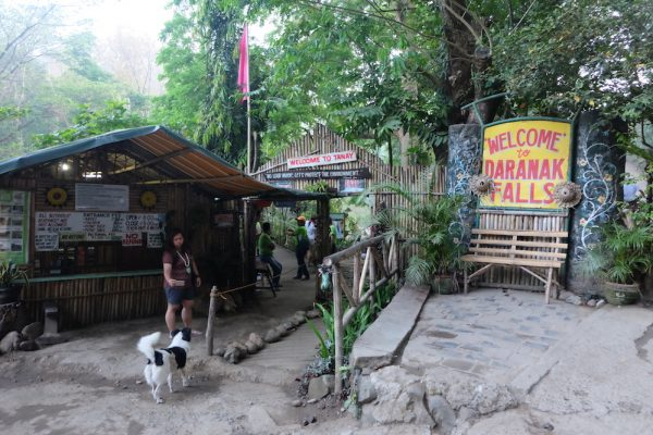 Entrance to Daranak Falls