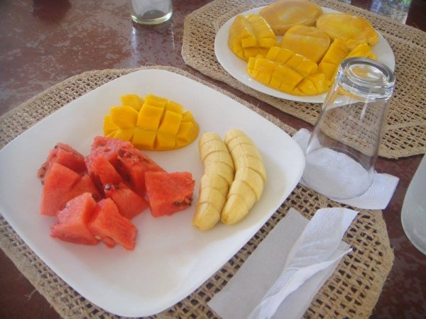 Fresh fruits with a galore of Guimaras mangoes